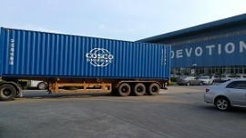 Devotion Boiler Exported to USA